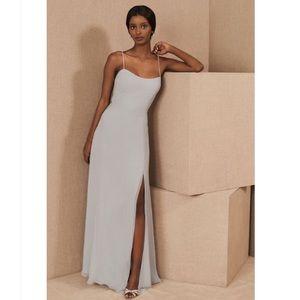 Jenny Yoo Kiara Dress - Whisper Blue - Bridesmaid